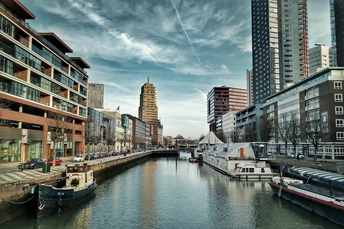 First Visit to Rotterdam